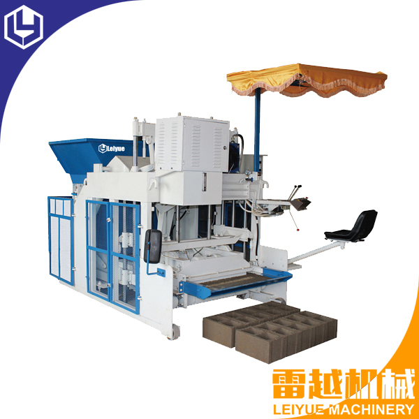 LY10-15 mobile hollow block machine
