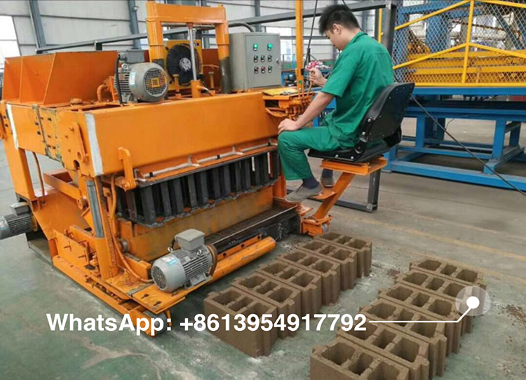 LY6-30 mobile block machine